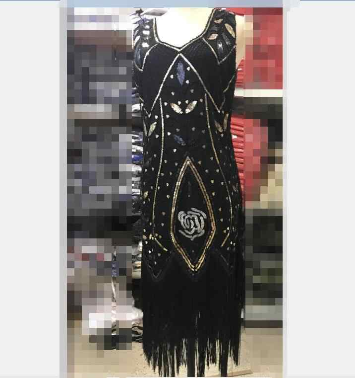 8ff4c44f ... red blue black Red Gold Ladies 1920s Roaring 20s Flapper Costume  Sequins Gatsby Dress Up carnival ...