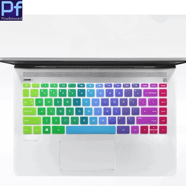 """2017 New 13.3 inch Laptop Keyboard Cover Protector for Newest (2017 2018 Version) HP ENVY 13-inch Laptop Spectre X360 13.3"""""""