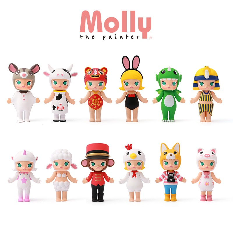The Best Original Pop Mart Kenny Swork Molly Chinese Zodiac Limited Version Clover Collection Figure For Fan Collection And Gift Back To Search Resultstoys & Hobbies