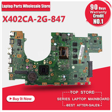 Laptop Motherboard For ASUS X502CA X402CA REV2.1 With 847 cpu  Fully Teated Mainboard 60NB00I0-MB5080 MB 8 Memory