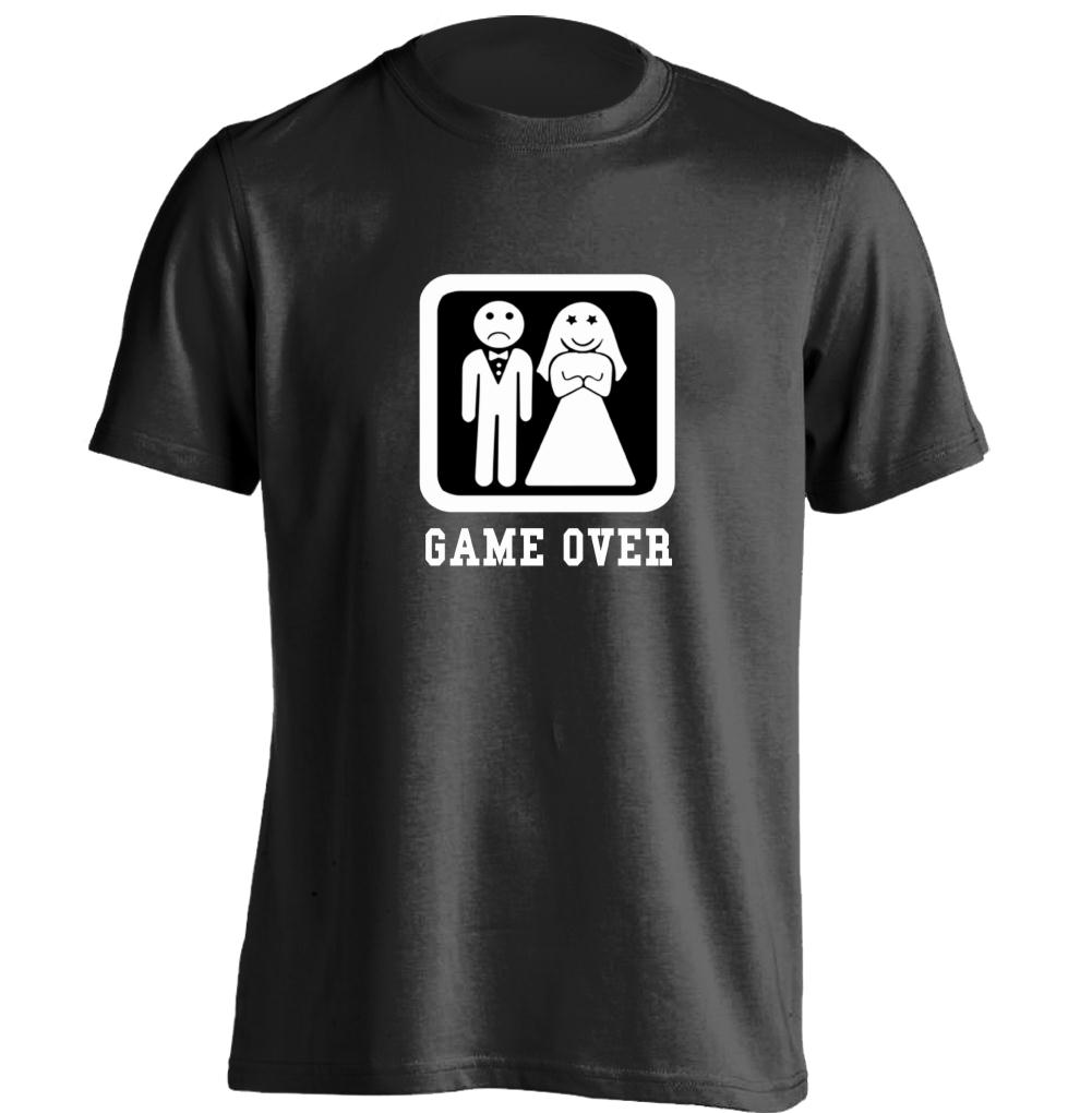 game over wedding bachelor party mens womens cool t shirt design t shirt