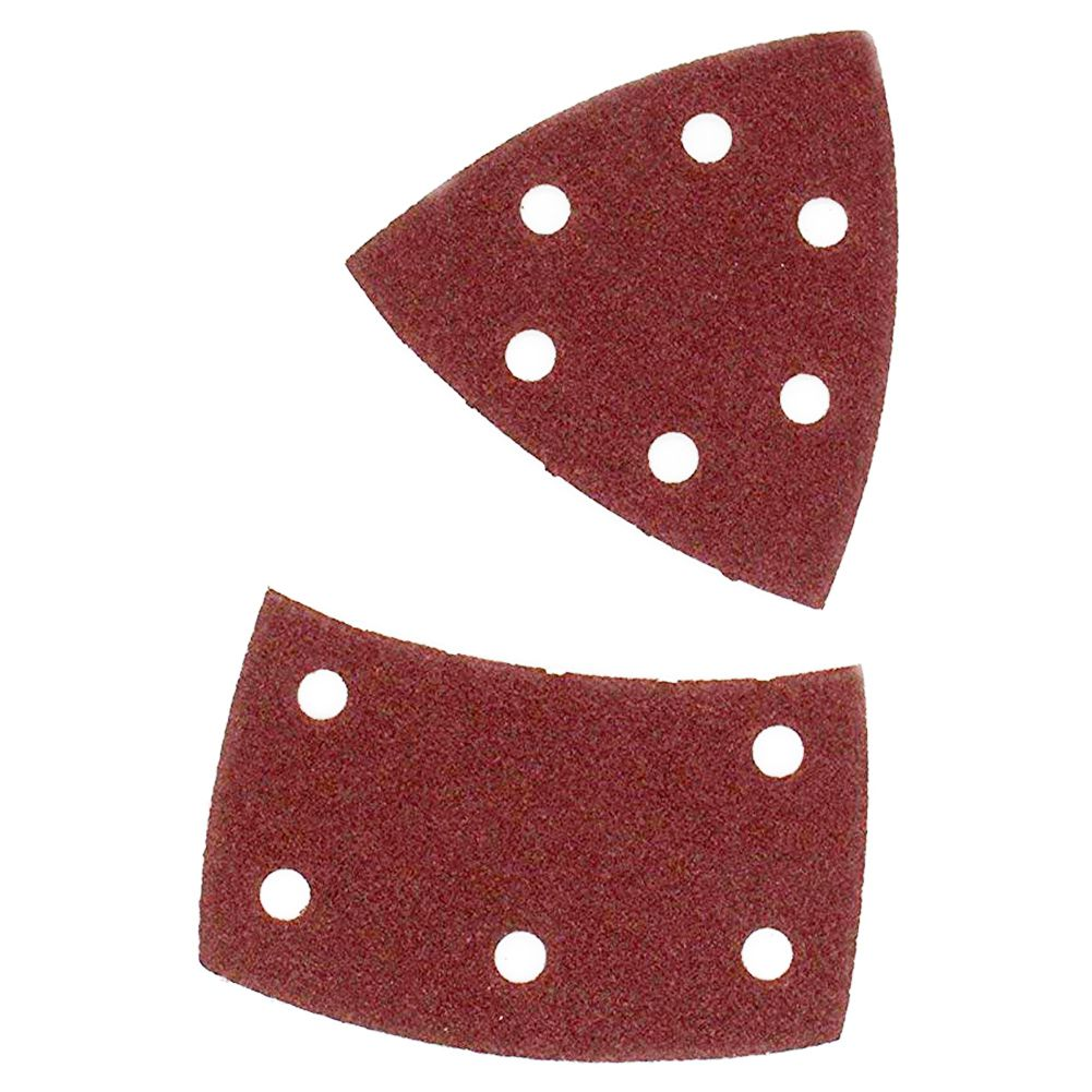 Image 5 - Drop shipping 40PCS Sandpaper  Sheets Hook and Loop Sanding Sheets 105 x 152mm 11 holes Grain Disk Sandpaper 60 240Grits Sanding-in Abrasive Tools from Tools