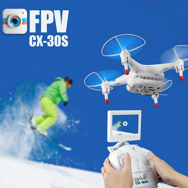 все цены на Newst Cheerson CX-30S RC Quadcopter 5.8GHz Real-time Image Transmission FPV Drone 720P Camera