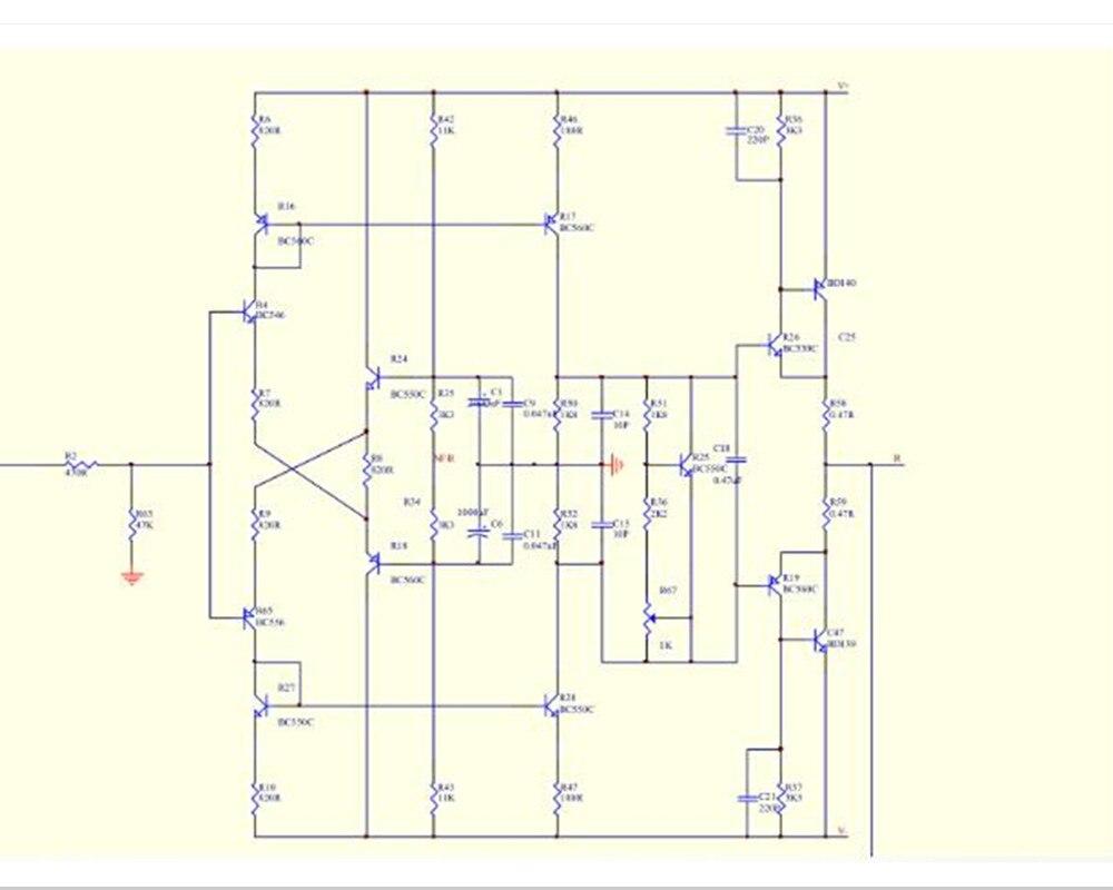Sandy Mmcf10 Hifi Lp Phonograph Mm Amplifier Riaa Phono Preamplifier Dc Servo Circuit 1 3 2 4