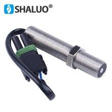 Magnetic Pickup MPU 3034572 Speed Sensor 80mm diesel generator part M16 80mm thread magnetic RPM genset ohm stainless sensor