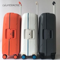 Chupermore Scratchproof Rolling Luggage Spinner High capacity Women Suitcase Wheels 20 inch Carry Ons Travel Bags Trolley