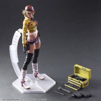 PLAY ARTS 25cm Final Fantasy XV Sexy Girl Cindy Aurum Action Figure Model Toys
