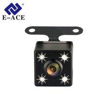 E-ACE Auto Videocamera vista posteriore di Backup Auto Telecamera di Retromarcia Parcheggio Della Macchina Fotografica 4 LED di Visione Notturna Impermeabile Telecamera Posteriore Per E-ACE Dvr