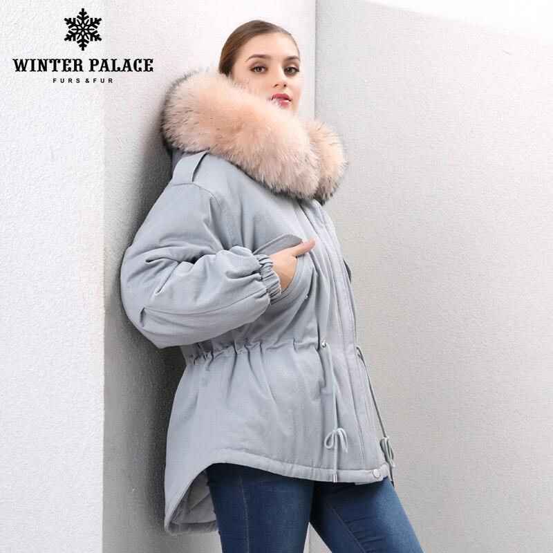 Style Outwear Gray Dans 2 Doublure 1 Col 2017 Veste Bleu Marque Pull Parkas À Fourrure Armée Femme Capuche Amovible green Hiver De Renard xxqw1P7R