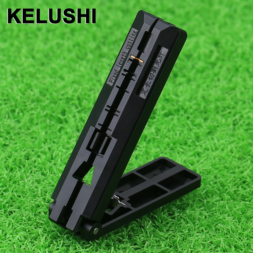 KELUSHI Newest FTTH Fiber Drop Cable Coating Stripper Fiber Guide Bar Cutting Guideway