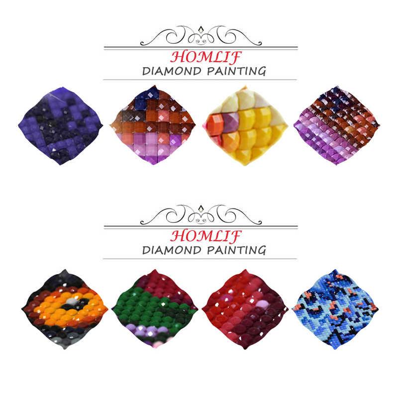 HOMLIF ダイヤモンド塗装スタートレック、フル平方、 5d diy ダイヤモンド刺繍キット壁ステッカー家の装飾のギフトアート漫画