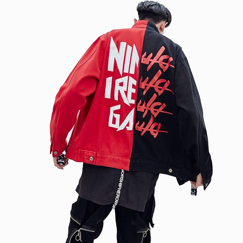 0d590b5b0c5 Купить 2017 хип хоп Для Мужчин  039 s джинсовая куртка поступление джинсовая  куртка Для мужчин Модная брендовая одежда Джинсы для женщин Куртки мужской  о.