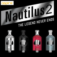 Gốc Aspire Nautilus 2 Xe Tăng Phù Hợp với Nautilus BVC Cuộn 0.7ohm 1.8ohm 23 Wát dưới air flow Aspire Nautilus 2 Atomizer