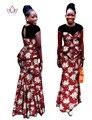Vestidos África Roupas Duas Peças Set Plus Size Mulheres Africano Dashiki WY460 Conjunto Das Mulheres Saia de Renda Alta Qualidade