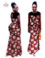 Vestidos Africa Clothing Two Piece Set  Plus Size Dashiki Women African Women Lace Skirt Set High Quality WY460