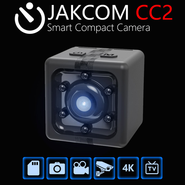 JAKCOM CC2 Smart Compact Camera Hot Sale in Mobile Phone Camer as 1080P 360 Panorama Sensor Night Vision Camcorder Accessories