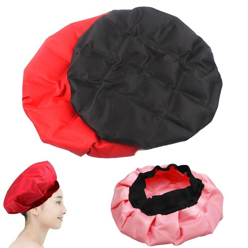 Heating Hair Cap Mask Hot Oil Hat Diy Thermal Cold