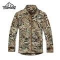 2016 Tactical Commander SoftShell Jacket Men Outdoors Warm Fleece Chaqueta Hombre Breathable Water Resistant Casaco Masculino