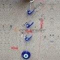 Handmade Parede De Suspensão do Pássaro de Vidro Azul Nazar Amuleto Azul Evil Eye Bead Decoração Da Sua Casa