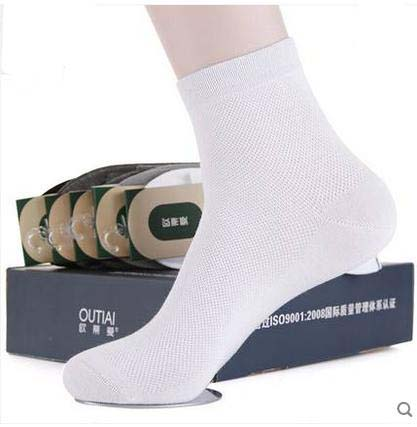 Male socks 100% cotton knee-high summer thin socks anti-odor mens socks black commercial sock spring and autumn