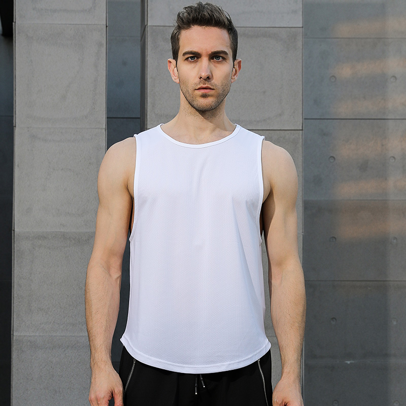 Men 39 s Running Vest Sexy Running Training Sleeveless Tops Men 39 s Sports Tops Single Fitness Quick Dry Men 39 s Running Yoga T Shirt in Running Vests from Sports amp Entertainment