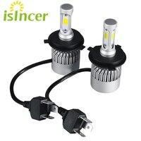 2pcs ISincer Car H7 H4 LED H13 H11 H1 9005 9006 Headlight 8000LM 12V Head Lamp