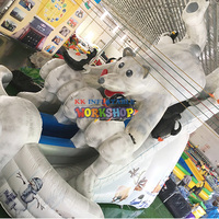 Popular amusement park Inflatable fun city for children