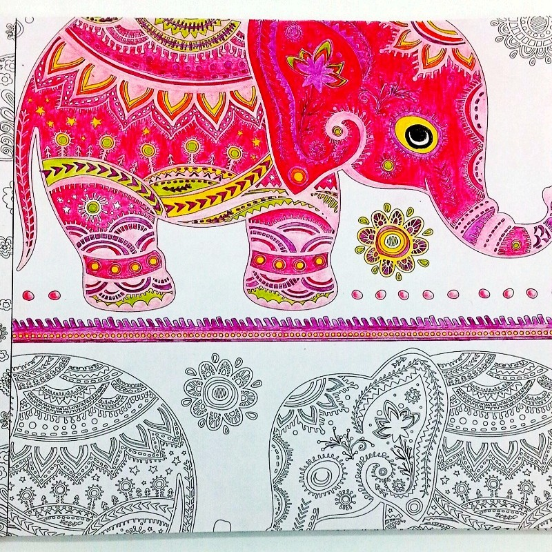 Aliexpress Buy Inspiration Bollywood Coloring Book For Adults Children Relieve Stress Antistress Painting Drawing Graffiti Colouring Books Gift From