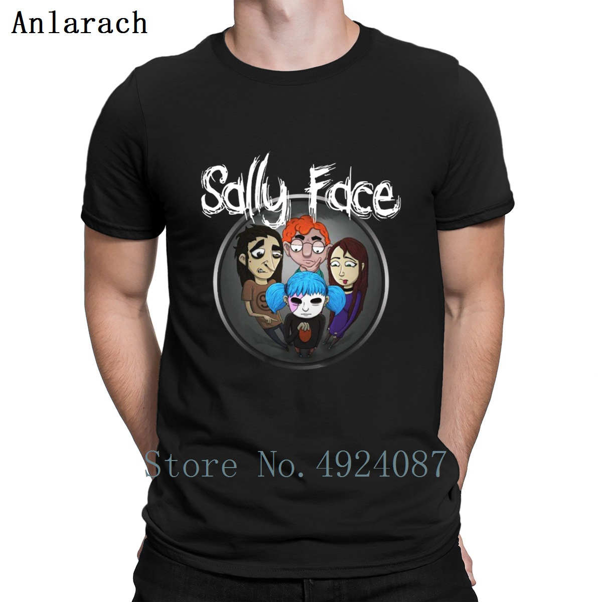 Sally Face Merch T Shirt Summer 2019 Fitted Fitness O Neck Tee Shirt Personalized Classic Formal Top Quality image