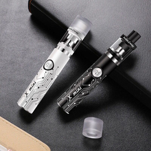 X mini 80W vape pen electronic cigarette kit 1200mah battery with 2.5ml atomizer 0.7 ohm tank  vape mod e-cigarettes kit 80w vape pen hookah starter kit 4ml atomizer tank e cigarette with 1800mah battery box mod metal body electronic cigarette kits