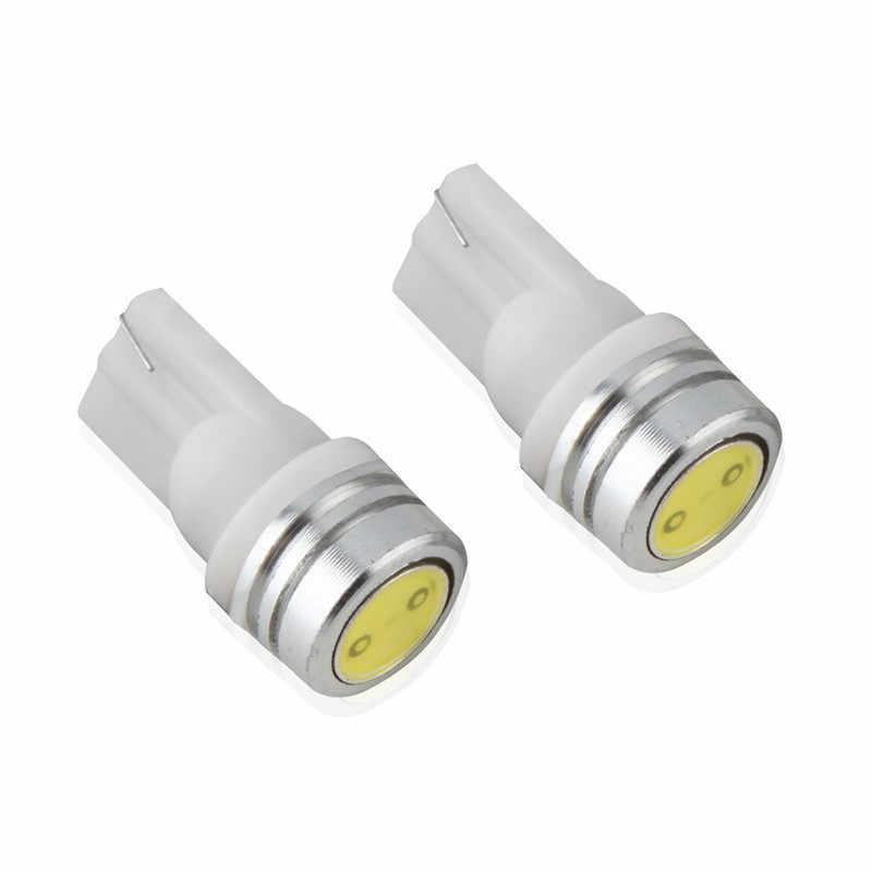 2 pcs T10 1W Xenon White Car LED Side Wedge Tail Lamp light 2825 194 168 W5W Universal Car Hot New