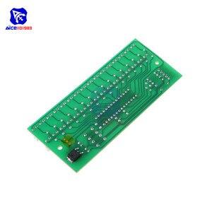 Image 2 - Sans soudure 16 LED double canal Audio indicateur de niveau amplificateur lampe bleu/vert/lumière LED rouge LED lumière DC 8  12V VU mètre Module