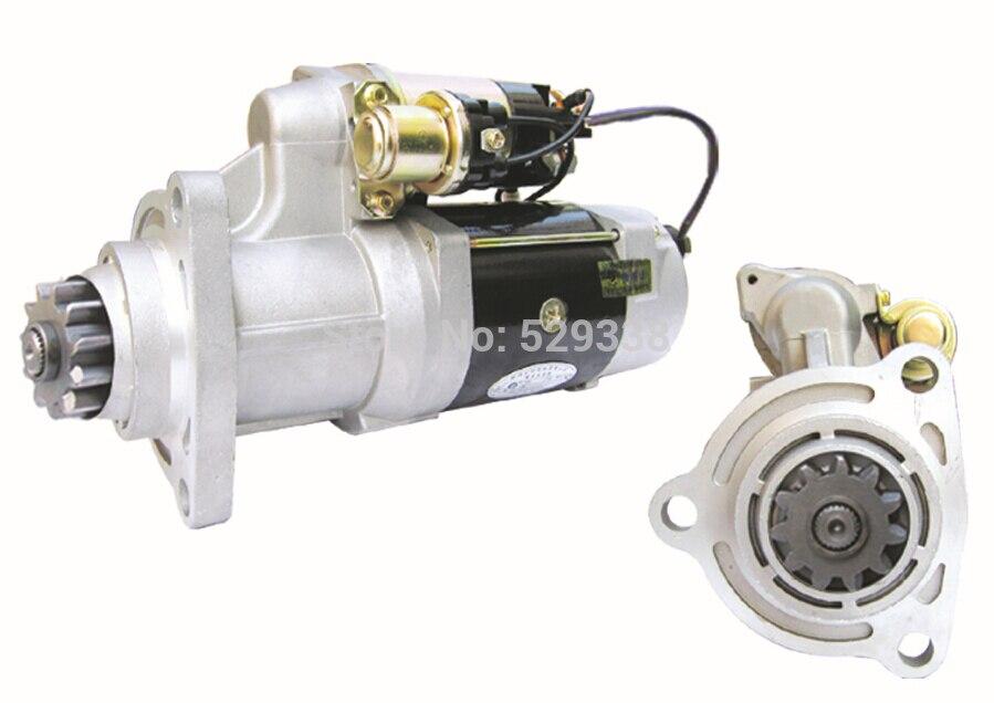 Nowy 39MT 24 V silnik startowy 4974389X8300039 8300016 19011509 2-2348-DR dla Cummins ISM11.0L, ISX15.0L silnika