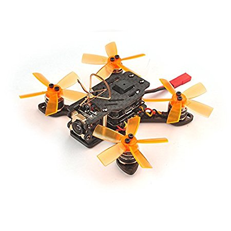 Toad 90 Micro Brushless FPV Racing Drone F3 DSHOT BNF Flight Controller with Frsky / Flysky RX Receiver Battery Racer Aircraft jmt bat 100 100mm carbon fiber diy fpv micro brushless racing airplane drone bnf with frsky flysky dsm x wfly rx receiver