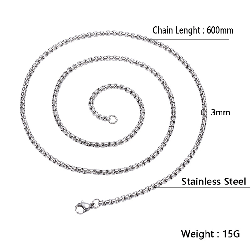 项链尺寸图