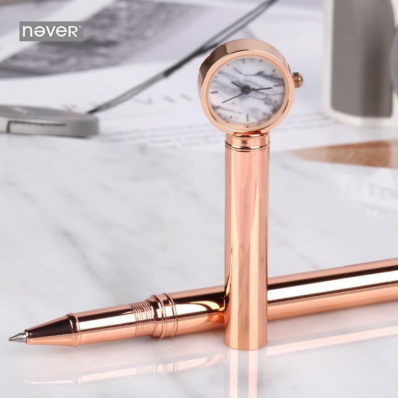 Signature Pen Time Series Metal Pen Neutral Black nice Gift Pen Gel Pen Kawaii School Supplies Cute Stationery Kawaii Stationery