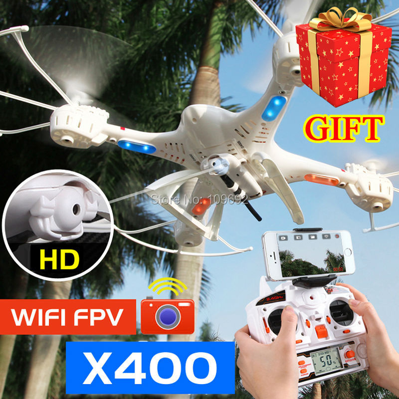 ФОТО Free Shipping MJX X400 Upgrade X400-V2 RC Quadcopter 6-Axis Drones 2.4G Helicopters Can Add C4005 WIFI FPV HD Camera VS H8D X600