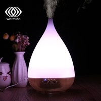 Warmtoo Portable WiFi Smart Colorful Ultrasonic Essential Oil Diffuser Humidifier For Alexa Google Home APP Timing