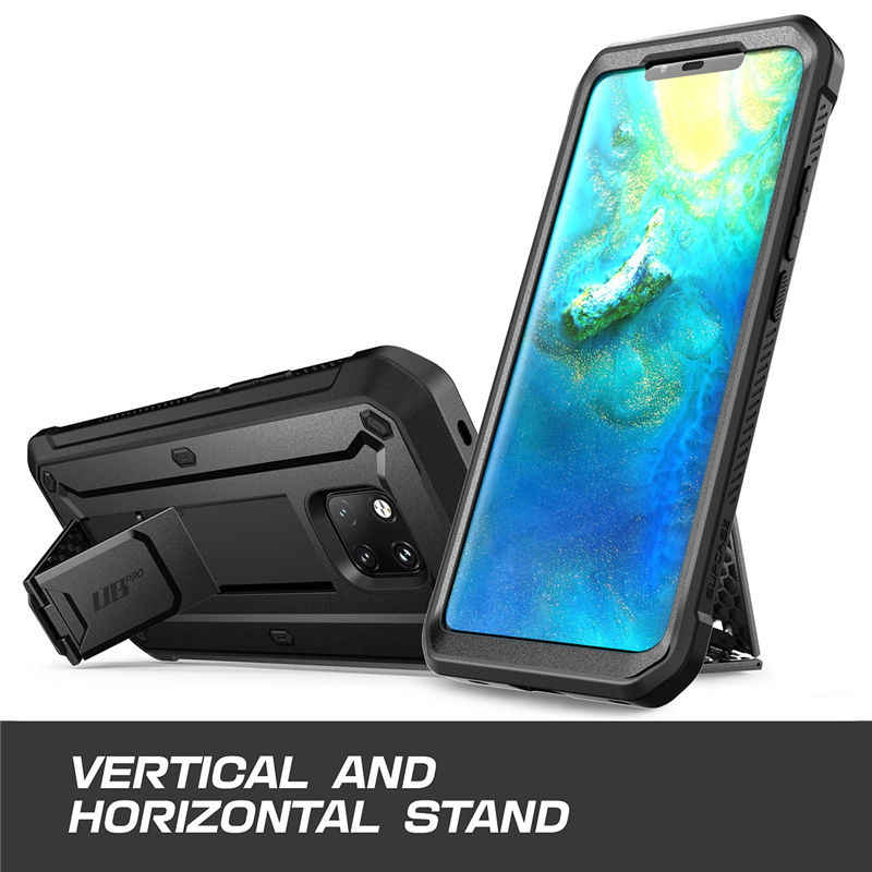 SUPCASE For Huawei Mate 20 Pro Case UB Pro Heavy Duty Full-Body Rugged Protective Case with Built-in Screen Protector&Kickstand