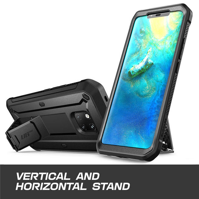 SUPCASE For Huawei Mate 20 Pro Case UB Pro Heavy Duty Full Body Rugged Protective Case with Built in Screen Protector&Kickstand