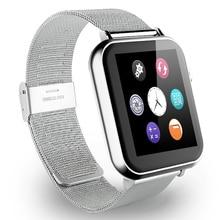 A9s bluetooth smart watch wrist smartwatch männer armbanduhr tragbares gerät metallband für apple ios android-handy mit kamera fm
