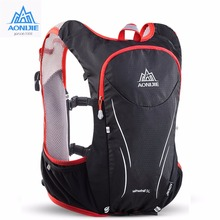AONIJIE 5L Outdoor Sports Backpack Women / Men Marathon Hydration Vest Pack for Exchange Cycling Hiking Running Water Bag