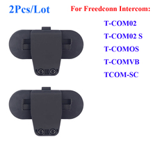 2 Pcs/Lot Freedconn Clip Parts for T-COMVB TCOM-SC Motorcycle Bluetooth Waterproof Helmet Interphone Clip Buckcle Accessories