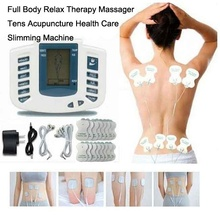Electrical Stimulator Full Body Relax Muscle Therapy Massager Massage Pulse tens Acupuncture