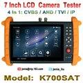 7 Pulgadas de Pantalla Táctil Cámara IP CCTV Tester Probador de IPC Cable de Monitor ONVIF/POE prueba + AHD + TVI + CVBS Cámara Tester con 8G SD tarjeta
