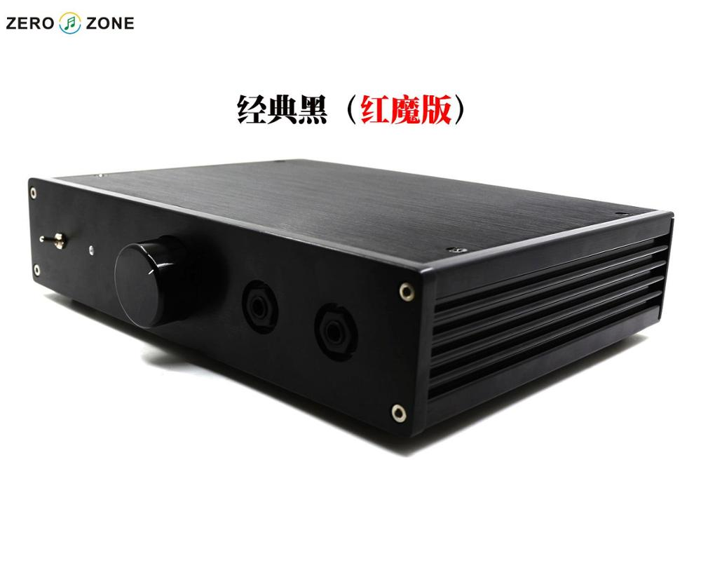 GZLOZONE Classic Black NX-03 Class A Headphone Amplifier Base On Italy RudiStor NX03 Amp