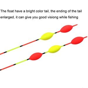 Image 4 - 8 pcs/lot prix de gros flotteurs de pêche Composite Nano Bobber divers modèles carpe & Crucian Flotador Pesca accessoires de pêche sattaque