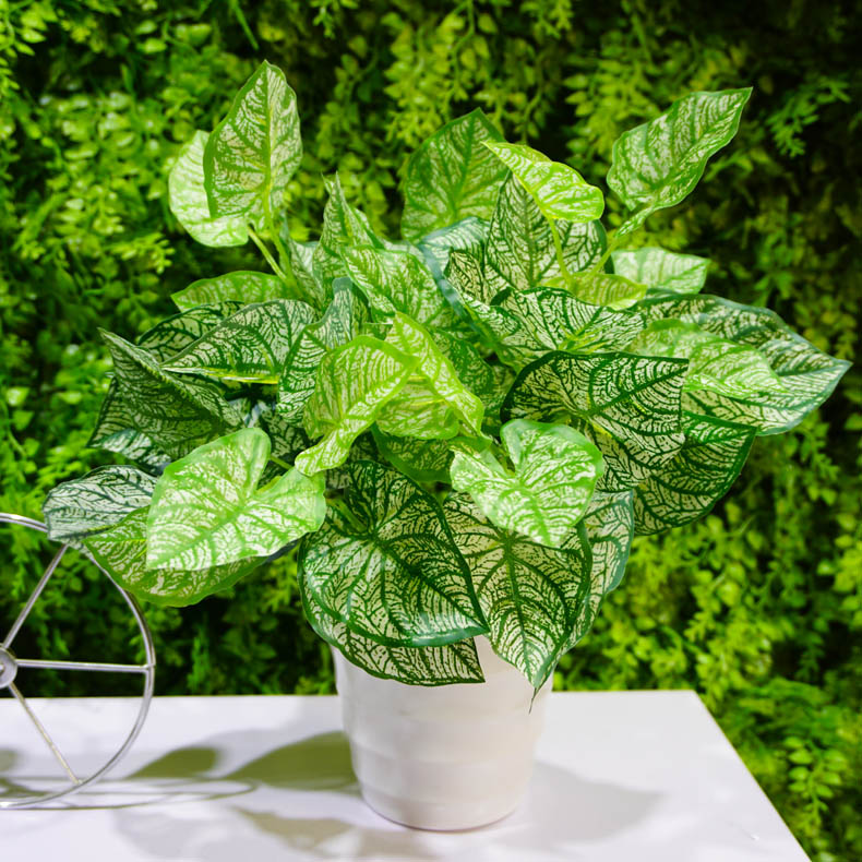 Simulation plant small potted fake tree indoor and outdoor for Plante verte decorative