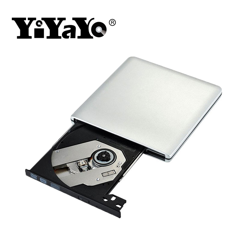 YiYaYo Externe dvd-station USB 3.0 CD / RW-brander ROM-speler - Computer componenten - Foto 3