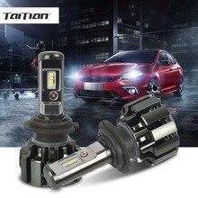 Taitian 2Pcs CSP 6500K 80W 9600LM 12V h4 led auto lamp H3 bulb H1 h7 car led fog light h11 9005 HB3  9006 HB4 24V Truck Bulb